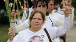 Recuerdan a la fallecida líder del movimiento Damas de Blanco, Laura Pollán Toledo