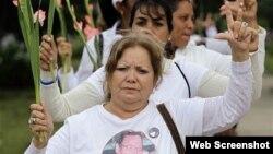 Expandieron cenizas de Laura Pollán en 5ta Avenida de Miramar