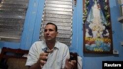 El expreso político y líder de la Unión Patriótica de Cuba, José Daniel Ferrer, en una foto de archivo de 2012. Reuters.