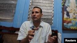 El expreso político y líder de la Unión Patriótica de Cuba, José Daniel Ferrer.