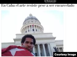 """Captura de pantalla del artículo de opinión publicado en la página en español de """"The Washington Post""""."""