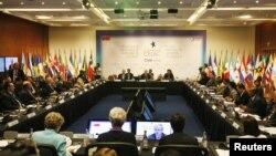 Reunión de ministros de finanzas en Chile, previa a la Cumbre CELAC - UE.