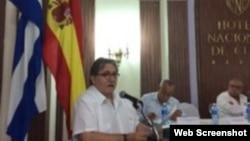 Encuentro empresarial España-Cuba. Hotel Nacional en La Habana.