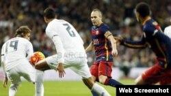 El Clásico ya es historia... Barcelona 4, Real Madrid 0.