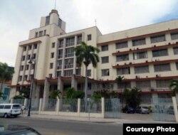 Sede del Grupo de Administración Empresarial S.A., GAESA, un verdadero pulpo controlado por los militares (E. Pérez Chang).