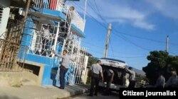 Allanan sede de UNPACU en Santiago de Cuba. (Foto: Liudmila Cedeño)