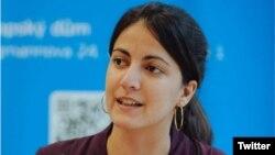La coordinadora de Cuba Decide Rosa María Payá.