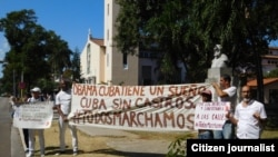 Líderes de UNPACU y Damas de Blanco se pronuncian sobre visita de Obama