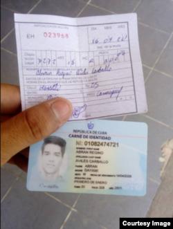 Multan a ciudadano en Camagüey por no usar nasobuco Foto cortesía de Adrian Quesada