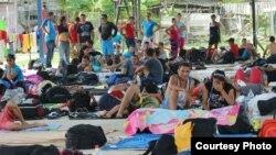 Puerto Obaldía está otra vez repleto de cubanos.
