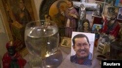 Altar para Chávez