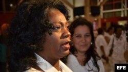 Damas de blanco inauguran proyecto comunitario. Con los detalles, desde Cuba, Berta Soler