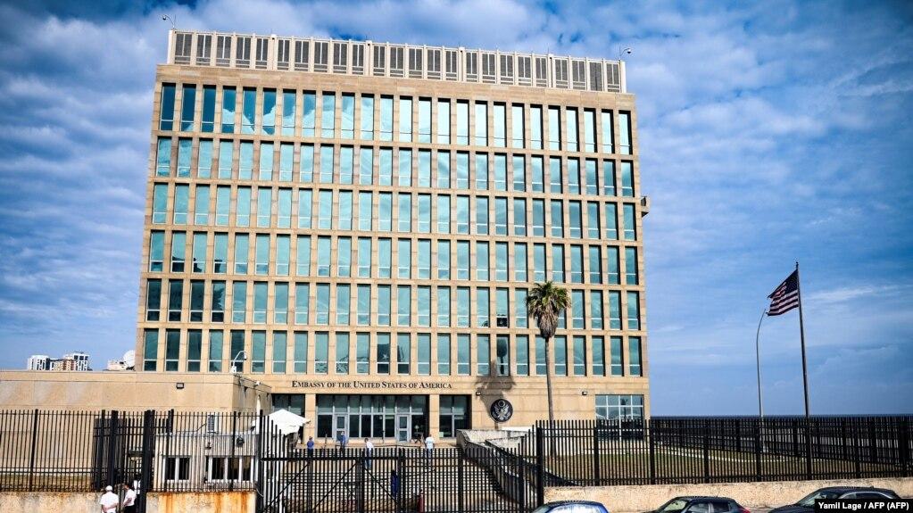 Embajada de EEUU en Cuba.