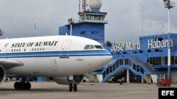 Fotografía de archivo del Aeropuerto Internacional José Martí de La Habana.