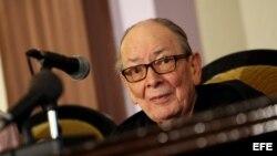 ARCHIVO. Alfredo Guevara, fundador del Instituto Cubano de Arte e Industria Cinematográficos