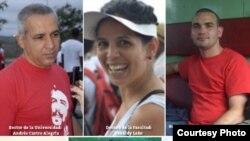 Represores cubanos identificados por la undación para los Derechos Humanos en la isla.