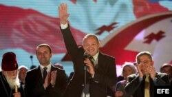 Georgianos celebran firma del tratado con la UE.