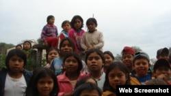 Estudiantes bolivianos.Foto Archivo.