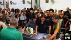Funerales del líder del Movimiento Cristiano Liberación Oswaldo Payá Sardiñas