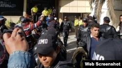 Unidad de Contraventores y Menores infractores donde fueron procesados los cubanos. (Foto: Ministerio del Interior de Ecuador)