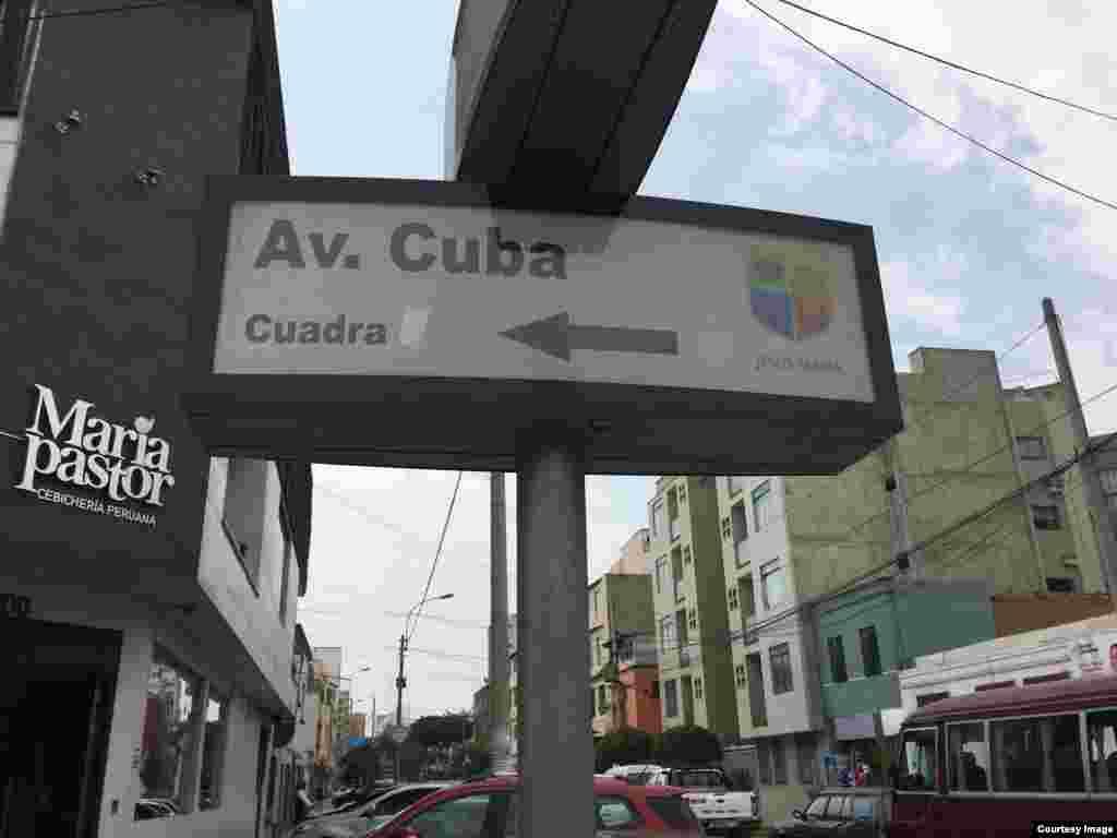 En Perú cubanos realizan homenaje a Martí.