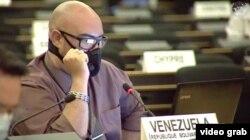 Después de la protesta del enviado de La Habana, el primero que interrumpió a Ruiz Urquiola fue el representante de Venezuela.