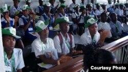 Estudiantes nigerianos en el extranjero.