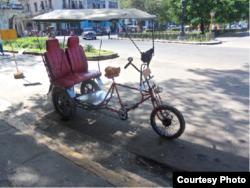 Bici taxi Habana / Foto Mario Hechavarría Driggs