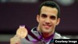 El gimnasta cubanoamericano Danell Leyva, medallista olímpico