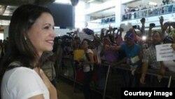 La diputada a la Asamblea Nacional (AN), María Corina Machado.