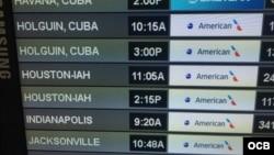 Vuelos de American Airlines a Cuba. Foto Cortesía Ricardo Quintana.