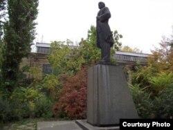 Estatua original de Lenin en Odesa.