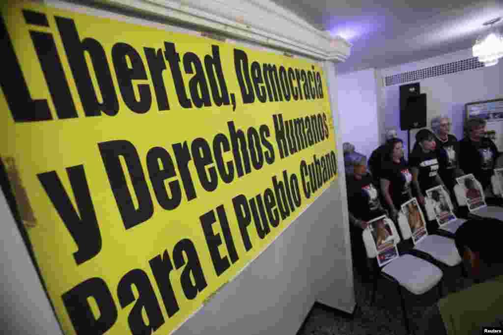 """Las activistas reiteraron que """"no permitan que el régimen se inserte a la cumbre, porque en Cuba no hay democracia, porque la autoridad cubana no sólo no respeta los derechos humanos, sino que la única libertad que entienden es l"""