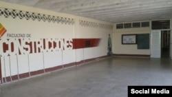 Tomado de la cuenta oficial de Facebook de la Facultad de Construcciones. Universidad de Camagüey.