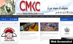 Así mostraba su cobertura deportiva la emisora santiaguera CMKC la mañana del lunes 10 de febrero.