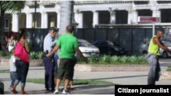 Reporta Cuba presencia militar en las calles. Foto: Pablo Marchan.