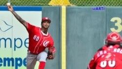 El lanzador cubano Vladimir Gutierrez fue suspendido 80 partidos por el use de sustancias dopante