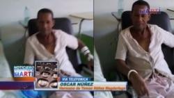 Núñez Magdariaga: en huelga de hambre esposado a cama de hospital