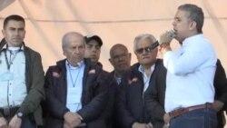 Iván Duque, el candidato del centro democrático para próximas elecciones en Colombia