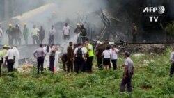 Avión se estrella con 110 personas en Cuba, sobreviven tres (VIDEO)