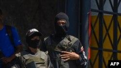 Miembros del Servicio Bolivariano de Inteligencia Nacional, Sebin.