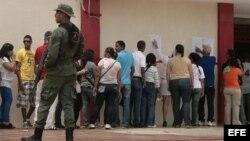 Fotografia de archivo. Elecciones presidenciales en Venezuela.