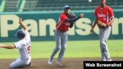 Peloteros cubanos. (Archivo)
