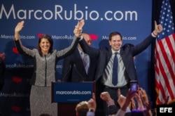 Nikki Haley apoya a Marco Rubio en primarias republicanas.