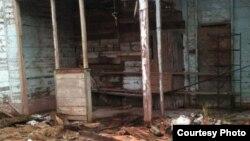 Esta vivienda en Güira de Melena colapsó recientemente por su deteriorado estado constructivo. (Foto: Jorge Bello)