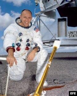 Bean formó parte de la misión Apolo 12, la segunda en alunizar.