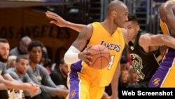 Kobe Bryant (c).