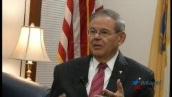 Senador cubanoamericano Menendez promete mantener investigación sobre ataques sónicos