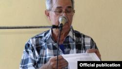 Pedro Armando Junco. Foto Radio Camagüey