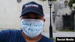 El periodista independiente Esteban Rodríguez, en una foto tomada de Facebook.